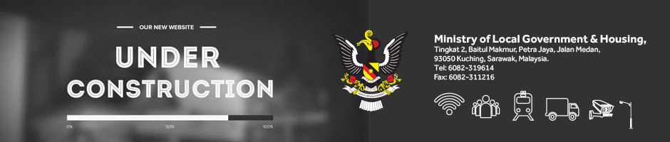 Welcome to Official Website for Ministry of Housing Sarawak